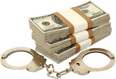 Miami Criminal Defense Lawyer Money With Cuffs